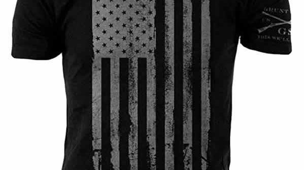 kickass american flag t-shirt grunt style