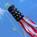 american flag windsock
