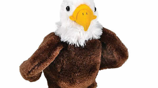 bald eagle stuffed animal