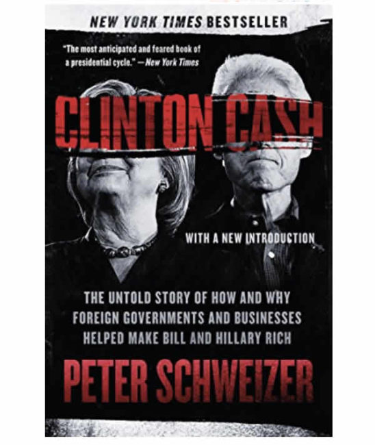 clinton cash book