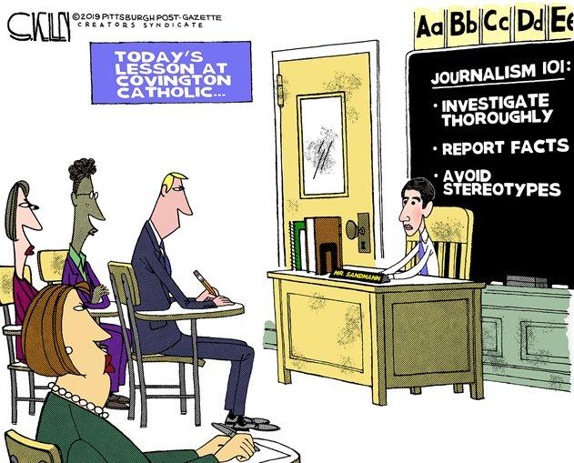 fake news journalists