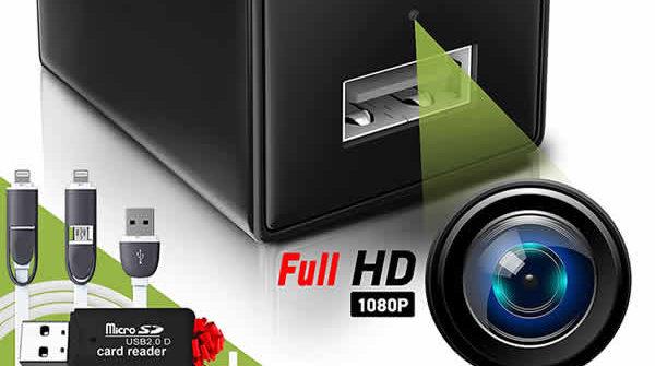 hidden spy camera usb charger