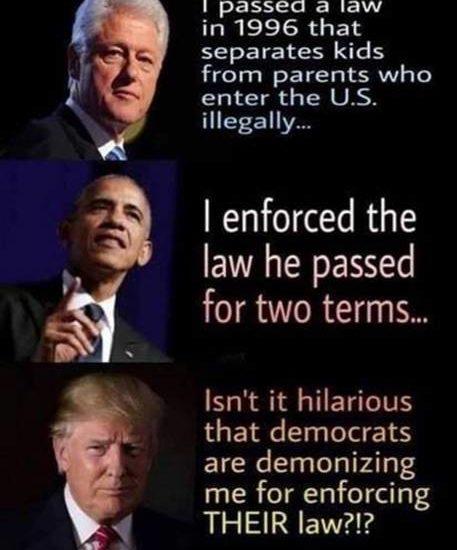 bill clinton obama trump