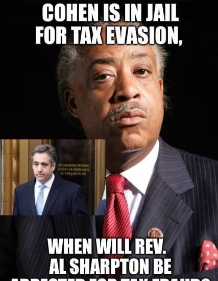 tax evasion fraud cohen sharpton