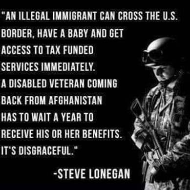 illegal immigrants disgraceful