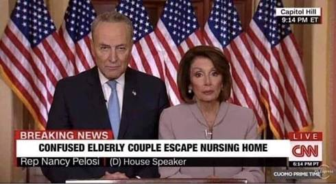 schumer pelosi elderly people