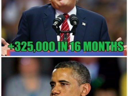 Trump vs obama manufacturing numbers