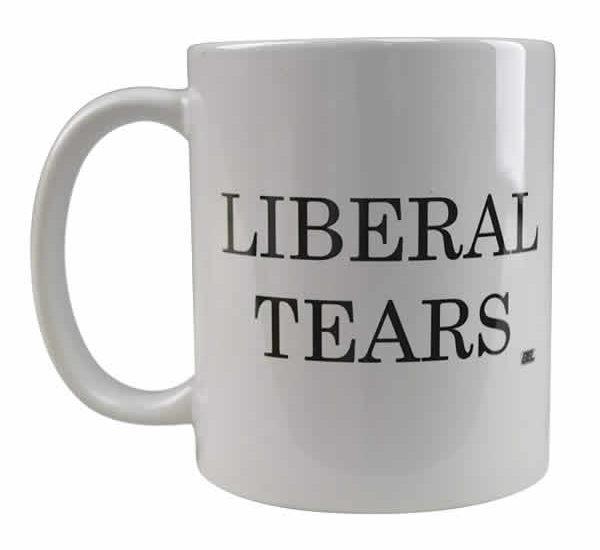 liberal tears coffee mug