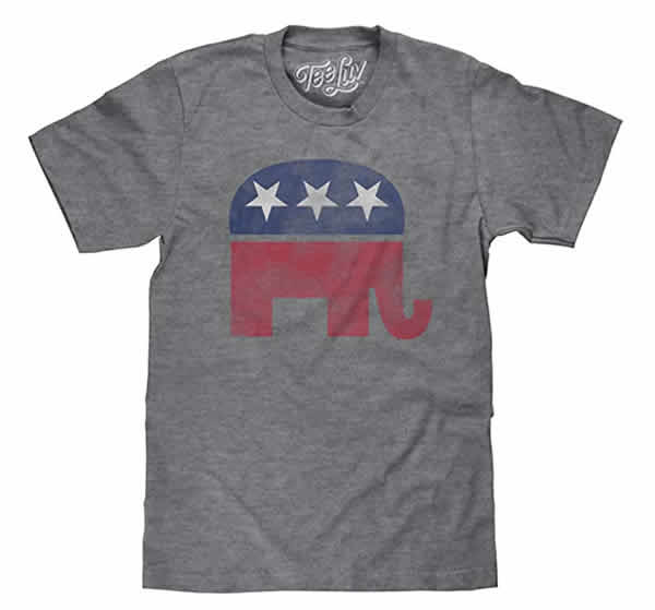 republican elephant tshirt