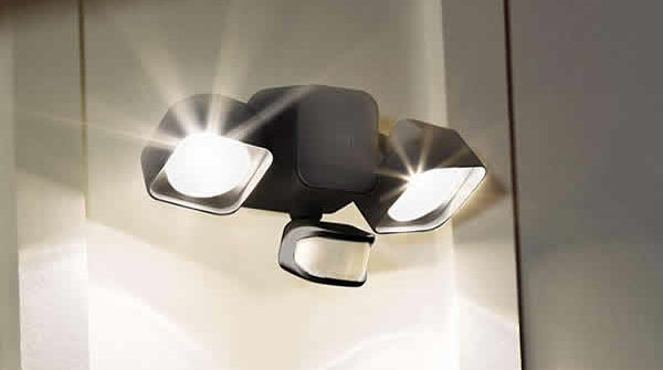 ring home security floodlight battery powered