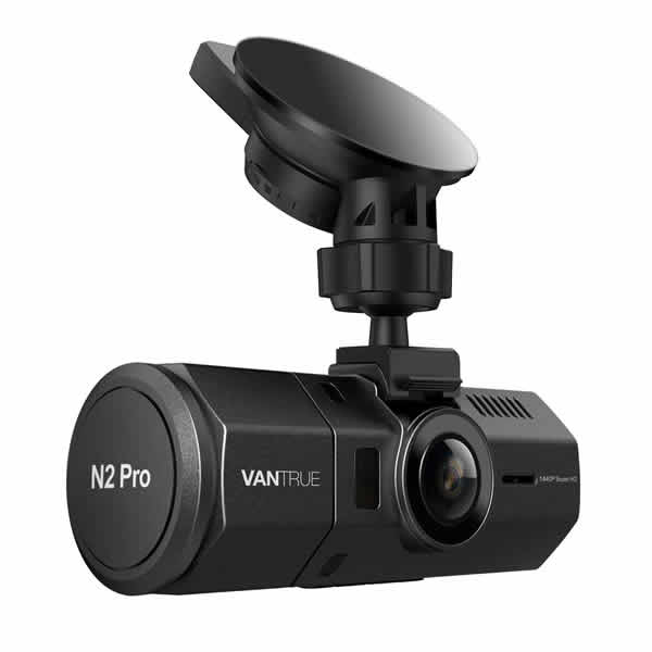 full HD dash cam front and rear cameras