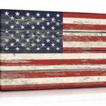 american flag wall hanging
