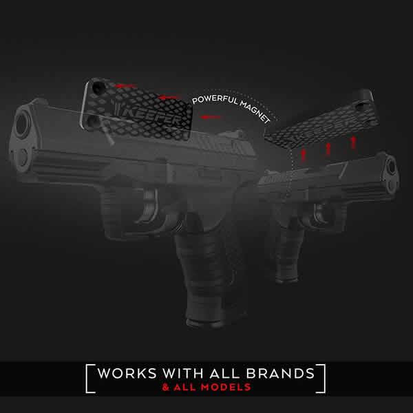 gun magnet holster gun keeper