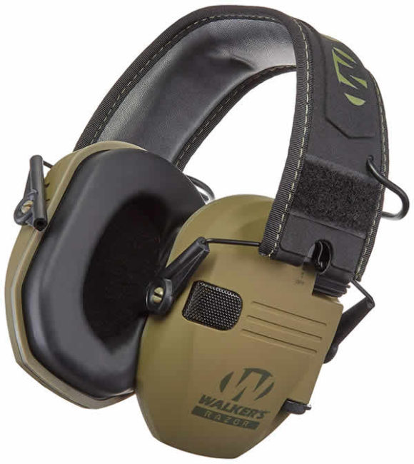 walker's hearing protection hunting shooting earmuffs