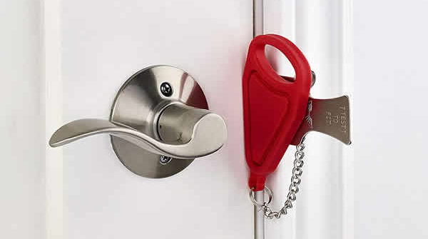 portable door lock addalock