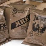 MRE meals ready to eat u.s. surplus