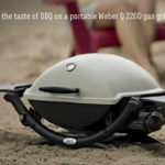 weber portable gas grill weber q2200